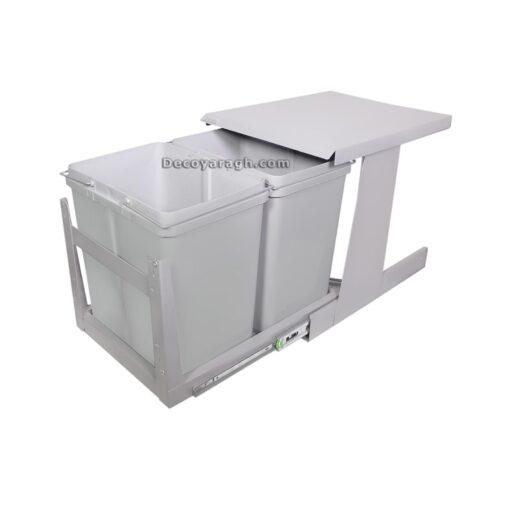 سطل زباله ی توکار کابینت مدل 832