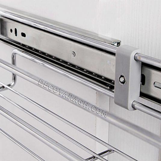 سوپری کابینت جا ادویه ای دو طبقه ریل پهلو فراسازان یونیت 15 سانت