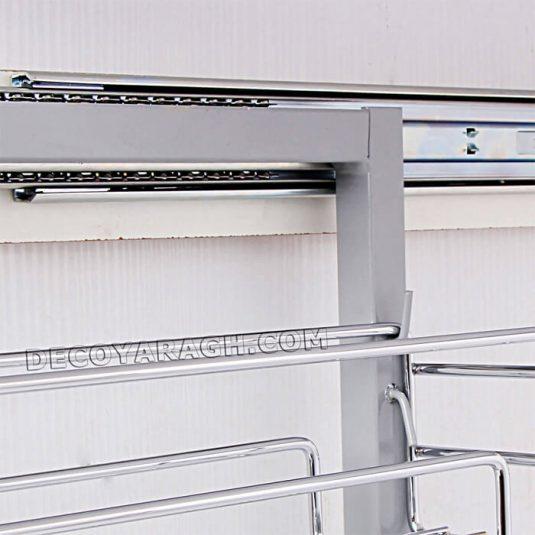 جا ادویه ای سه طبقه ریل پهلو فراسازان یونیت 20 سانت