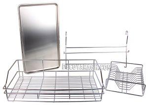 نمای آبچکان آویز استیل مدل AS 926