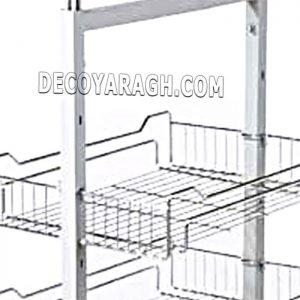 امکان نصب درب کابینت و اتصال سبد سوپری به درب