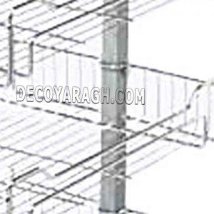 تقسیم بندی سطح سبد با مفتول های فلزی