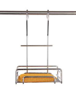 سبد جا اسکاچی آویز مدل AS920 کوچک استیل