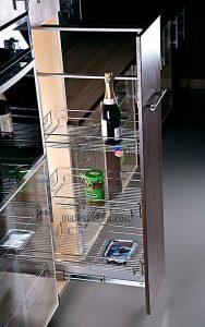سبد سوپری کابینت بهینه مدل 91185 ارتفاع 110-90 سانت
