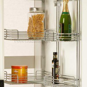سبد لوازم کابینت آشپزخانه مدل 91178 ارتفاع 140-120 سانت