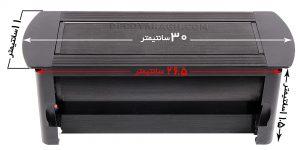ابعاد پریز برق توکار کابینت مدل 2171