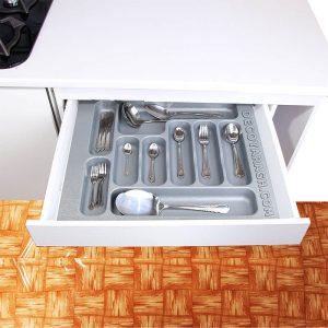 مزیت استفاده از تقسیم کننده برای کشو کابینت آشپزخانه