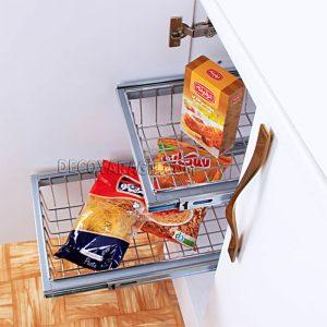 نصب آسان تجهیزات داخل کابینت آشپزخانه