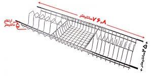 آبچکان برای کابینتی با عمق 30 سانتی متر
