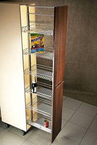 سبد کابینت بلند تا سقف آشپزخانه مدل 91191 ارتفاع 220-200 سانت