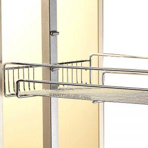 قابلیت نصب درب در سبد سوپر ریل وسط بهینه با ارتفاع 110-90 سانت و یونیت 30 سانت