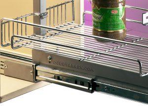 سبد آشپزخانه مدرن مدل 91148 ارتفاع 140-125 سانت