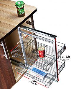 تناسب ابعاد سبد سوپری کابینت با یونیت کابینت