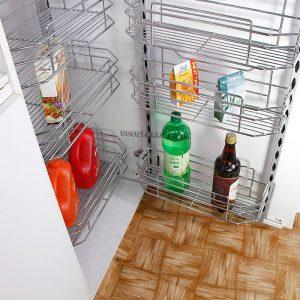 سبد سوپری کابینت یخچالی 6 طبقه مدل A 583