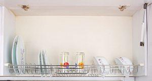 نمای ظاهری آبچکان سینک ظرفشویی استیل یونیت 120 سانت