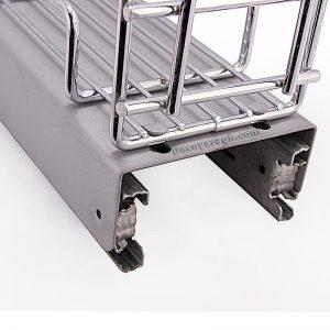 قابلیت ویژه برای تمیز کردن کابینت محل نصب جای ادویه استیل