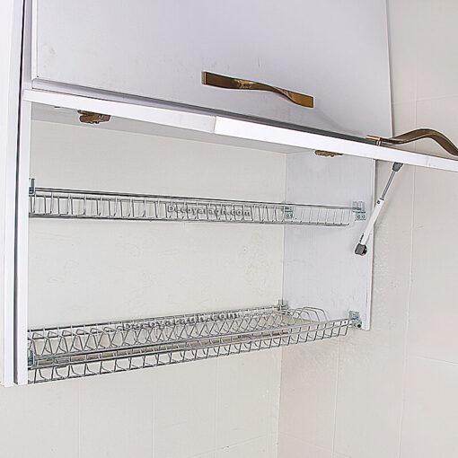 آبچکان کابینت ام دی اف آبکاری مدل A102 یونیت 80 سانت