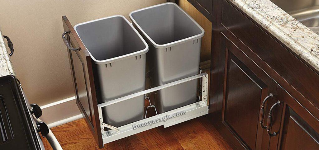 مناسب ترین سطل زباله برای آشپزخانه
