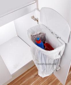 سطل زباله روی درب کابینتی توبین