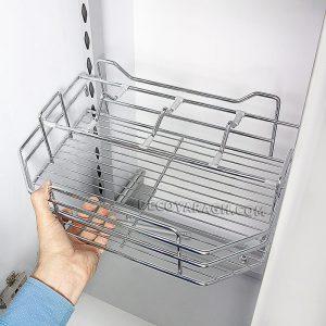 هر طبقه ی سبد سوپری یخچالی ابعادی متفاوت دارند