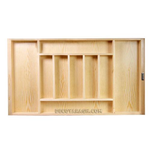 جای کارد و چنگال چوبی مدل 895