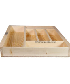 جا قاشق چنگالی چوبی مدل 893