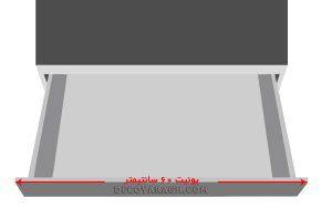 کابینت محل نصب جا قاشقی داخل کابینتی