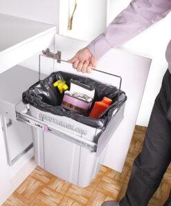سطل زباله آشپزخانه پارس مدل 40 لیتری