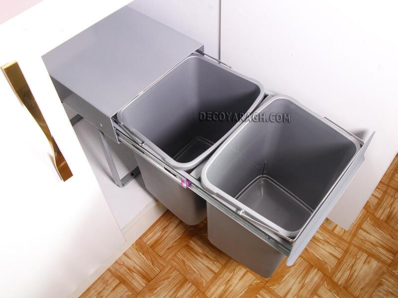 سطل توکار کابینت پارس مدل 50 لیتری