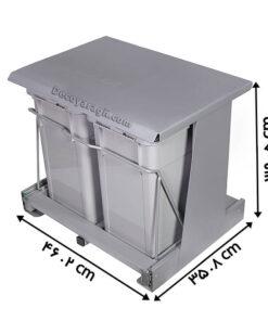 سطل زباله آشپزخانه ریلی مدل 842