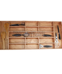 جا قاشق و چنگال چوبی اوراسی مدل A01