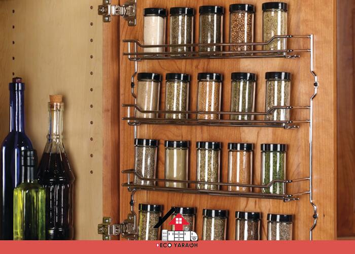 استفاده از درب کابینت ها، ایده برای آشپزخانه های کوچک