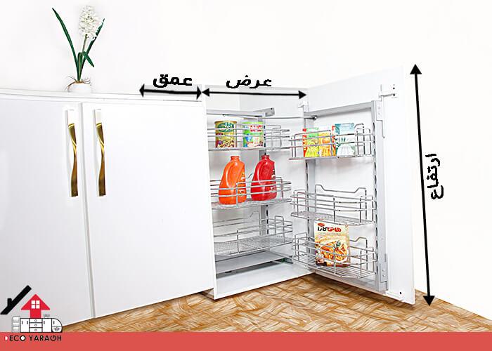 یونیت کابینت در نصب سبد سوپر یخچالی چیست