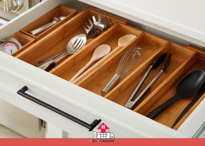 نظم داخلی مهم ترین ایده برای آشپزخانه های کوچک