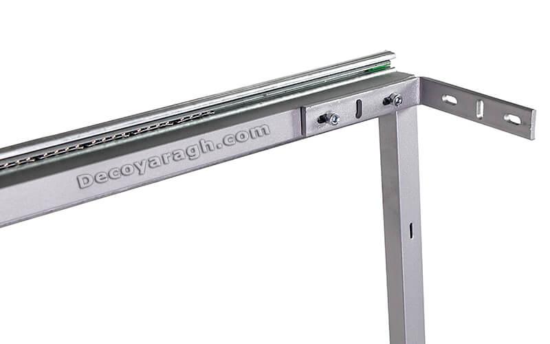 چگونه سبد ریل پهلو را داخل کابینت نصب کنیم