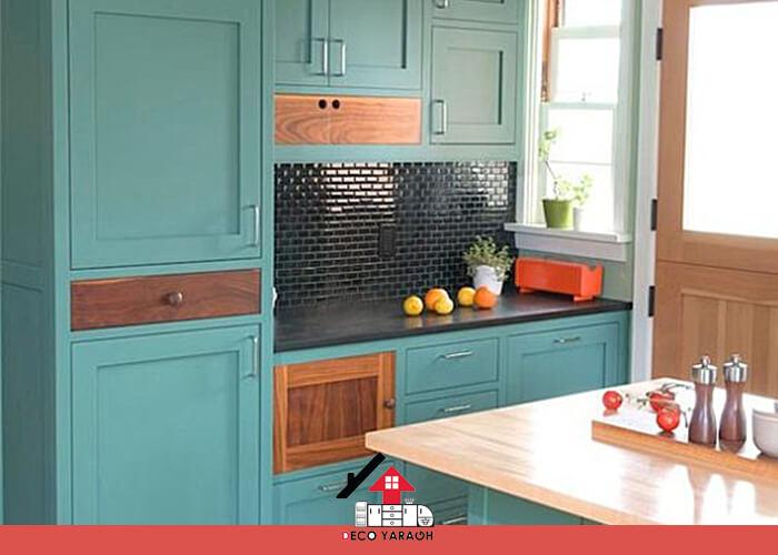 انتخاب کابینت برای آشپزخانه بازسازی شده