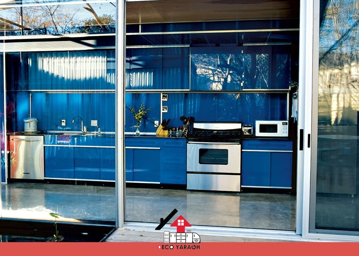 طراحی کابینت آشپزخانه به صورت کشویی