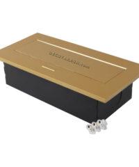 پریز توکار طلایی مدل 100117